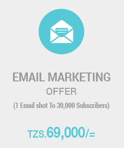 Email Marketing for Only 80,000/=