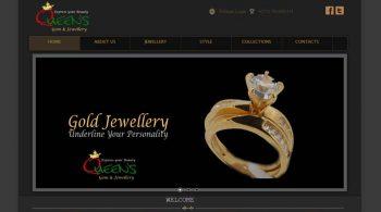 Queens Gems & Jewellery Website