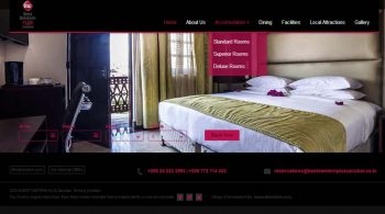 Best Western Plus Zanzibar Website