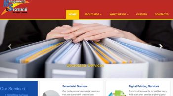Management & Secretarial Services Website