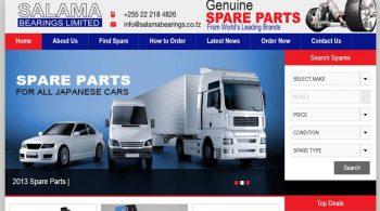Salama Bearings Website