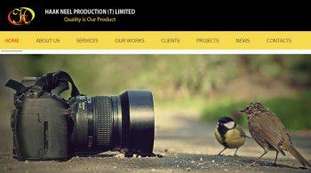 HaakNeel Production Website
