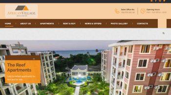 African Village Real Estate Website